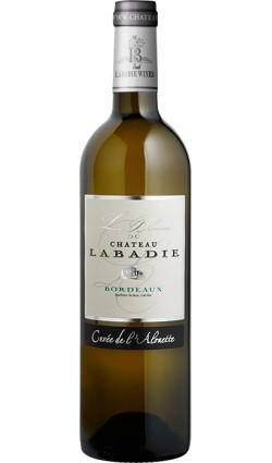 Le blanc du Chateau Labadie 2016